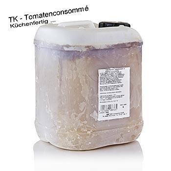 Tomatové consommé, připravené pro použití v kuchyni 1:1, zmrazené, 5 l