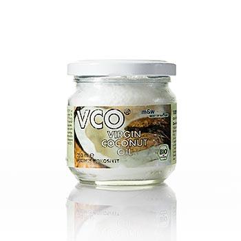 Panenský kokosový tuk/olej (Virgin Coconut Oil), BIO-certif., 200 ml
