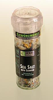 Gourmet mlýnek na koření Seasalt & Seaweed, Easy Gourmet, 78 g