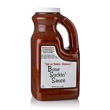 Bone Suckin´ Sauce Regular, omáčka na barbeque, Ford´s Food, 1,89 l