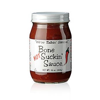 Bone Suckin´ Sauce Hot - pálivá omáčka na barbeque, Ford´s Food, 454 g