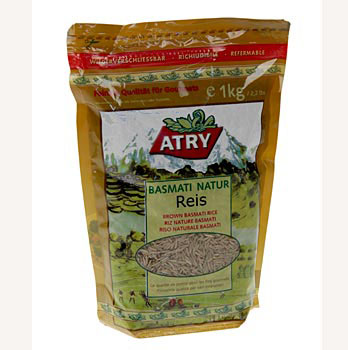 Hnědá rýže Basmati, natur, Atry, 1 kg