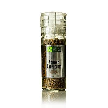 Gourmet mlýnek na koření Čokoláda-capuccino, Easy Gourmet, 80 g