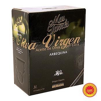 Mas Tarrés - Verde Oliva, olivový olej extra panenský, olivy Arbequina, DOP Siurana, 3 l