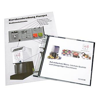 PACOJET - provozní pokyny a návod k použití na CD, Powerlux, ks