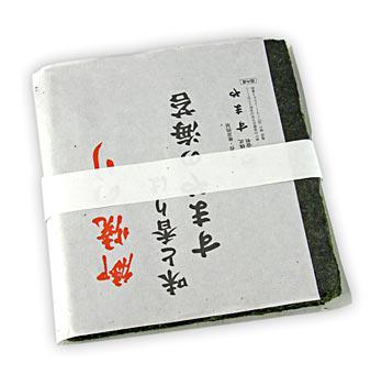 Yakinori v plné velikosti, sušené mořské řasy-listy, pražené, platin, 50 listů