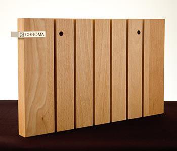 Chroma Typ 301 P-14 blok na nože na zeď, bukové dřevo uni, na 6 nožů typu 301, ks