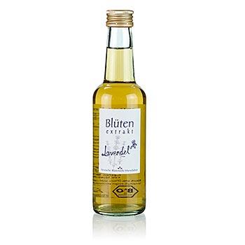 Levandulový květ extrakt, BIO certif., 250 ml