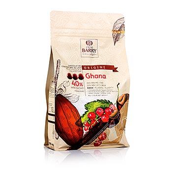 Original Ghana, mléčná čokoláda, pecky, 40,5% kakaa, 1 kg