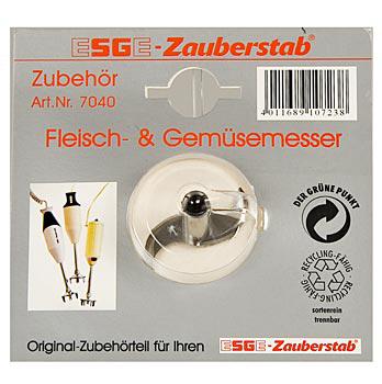 Náhradní nože, na maso/zeleninu, hrubé, pro tyčový mixer ESGE No.7040, ks