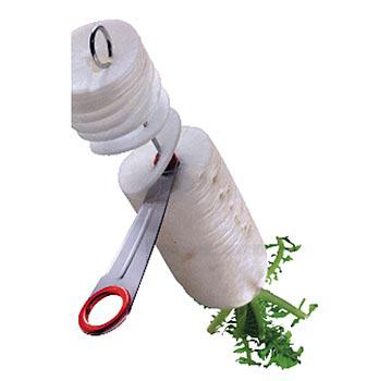Spirálový kríječ an zeleninu, ruční, od Bron-Coucke, ks