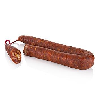Chorizo - extra-pikantní klobása ve tvaru podkovy, cca 250 g