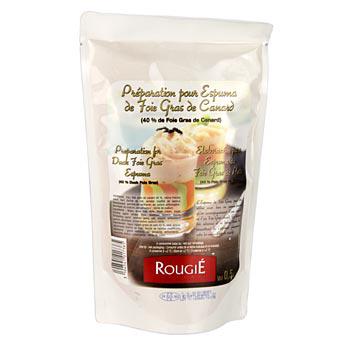 Kachní játra přípravek na Espuma, 40 % kachna, Rougié, 500 g