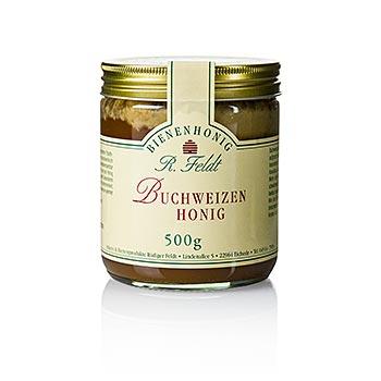 Pohankový med, Kanada, tmavý, krémový, velmi silný, karamelový, 500 g