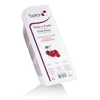 Pyré višně & brusinka, zmraz., Boiron, 1 kg