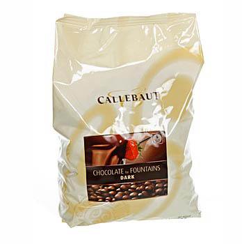 Hořká čokoláda, pro fontánu a na Fondue, pecky, 56,9% kakaa, 2,5 kg
