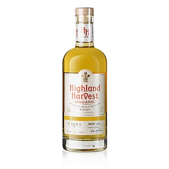 Highland Organic Scotch Whisky, 40% obj., BIO-certif., 0,7 l