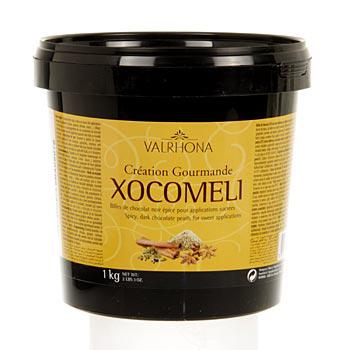 Xocomeli, kořeněné perličky na polevu, 57% kakaa, 1 kg