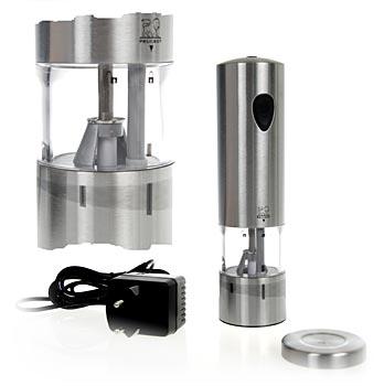 Peugeot elektrický mlýnek na pepř ELIS, 20 cm vys., dobíjecí, nerezová ocel, ks