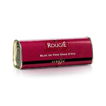 Husí játra blok, s 3% lanýže, lichoběžník, 95% játra foie gras, Rougié (zimní sezóna), 310 g