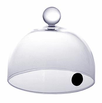 Aladin Rubi skleněný poklop s ventilem 13 cm (pro kouření-super Aladin) 100% Chef, ks