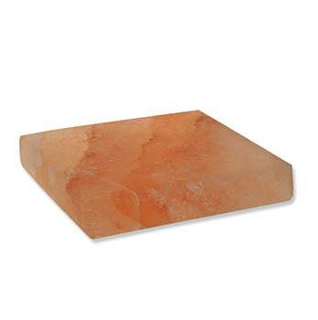 Servírovací a grilovací kámen, pákistánská krystalická sůl, cca. 20 x 20x2,5cm, ks