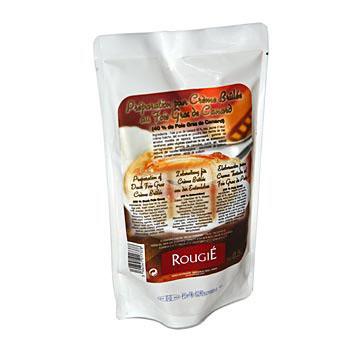 Kachní játra přípravek na creme brulee, 40 % kachna, Rougié, 500 g