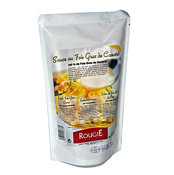 Kachní játra přípravek na Sauce, 40 % kachna, Rougié, 500 g
