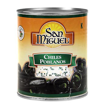 Chili Poblano, chilli papričky na nádivku, 750 g
