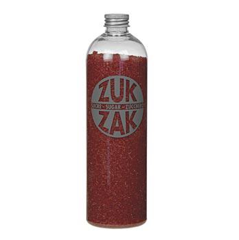 Barevný krystalový cukr - ZUK ZAK, červený, 450 g
