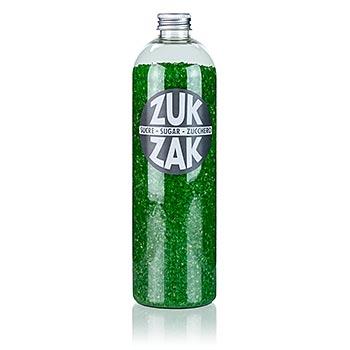 Barevný krystalový cukr - ZUK ZAK, zelený, 450 g