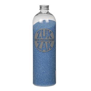 Barevný krystalový cukr - ZUK ZAK, tyrkys., 450 g