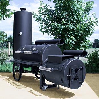 BOS FOOD Barbecue (BBQ) Grill (Smoker) Chuckwagon 24', ks