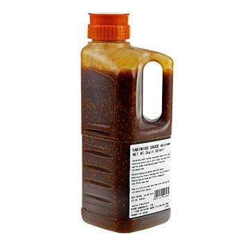 Yakiniku Sauce, na barbecue-dip a jako marináda, s geneticky modifikovanou sójou, 1,7 l