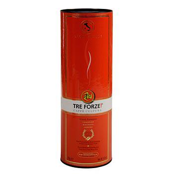 Espresso - TRE FORZE! ze Sicílie, mletá káva, pražená nad ohněm z olivového dřeva, 250 g