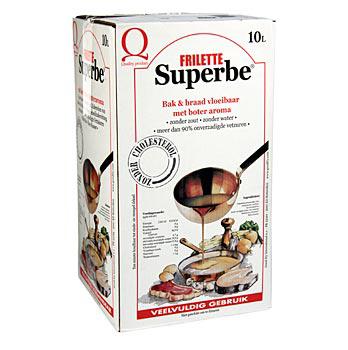 Frilette Superbe, rostlinný olej s máslovým aroma, na pečení a smažení, 10 l