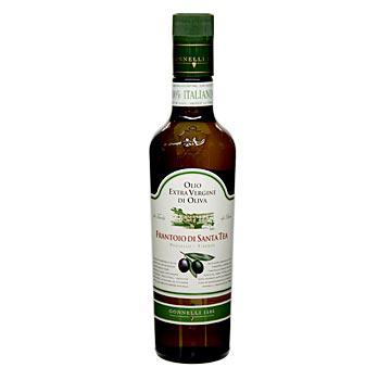 Santa Čaj olivy - Fruttato Intenso extra panenského olivového oleje, zelených oliv výběr, 500 ml