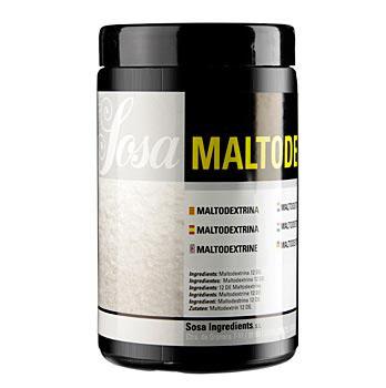 Maltodextrin ze sladu, střední sladkost DE 12, 600 g