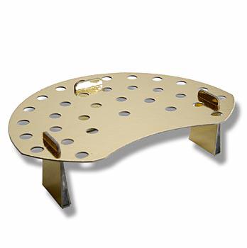 Držák na mini-kornoutky, tvrdý karton/zlatá fólie, 35 kornoutků, ks