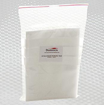Domnick - Sous-Vide vakuové pytle, k varu do 90° C, strukturované, 16x23 cm, 50 ks