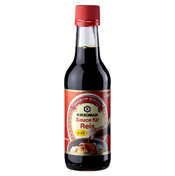 Sojová omáčka - Shoyu, sladká, Kikkoman, Japonsko, 250 ml