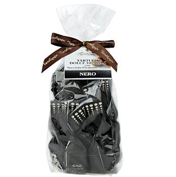 Lanýžové pralinky - Dolce d'Alba, tmavá čokoláda, á 14 g černý papír, 200 g