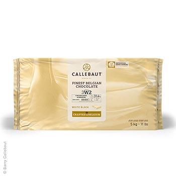 Bílá čokoláda, 30% kakaového másla, 22% mléka, blok, 5 kg