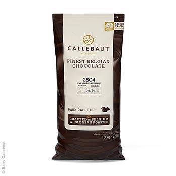 Jemná hořká čokoláda, řídká tekutá, pecky, 54% kakaa, 10 kg