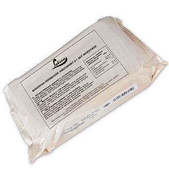 Surový marcipán, upravený - marcipán pro modelování, 35% Středomořské mandle, Lubeca, 1 kg