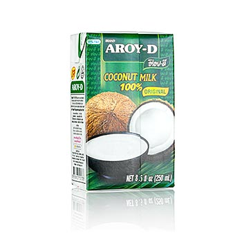Kokosové mléko Aroy-D, 250 ml