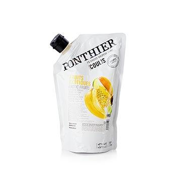 Exotické ovoce Coulis, Sauce, 20% cukru, 1 kg