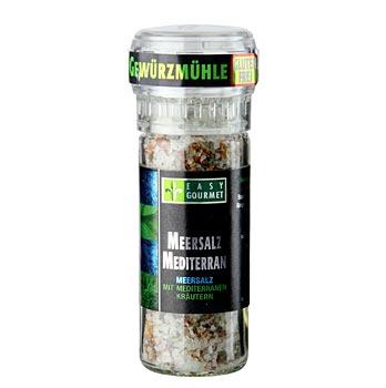 Gourmet mlýnek na koření, bylinky a mořská sůl, Easy Gourmet, 85 g