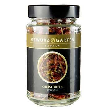 Gewürzgarten, papričky chilli, sušené, 30 g