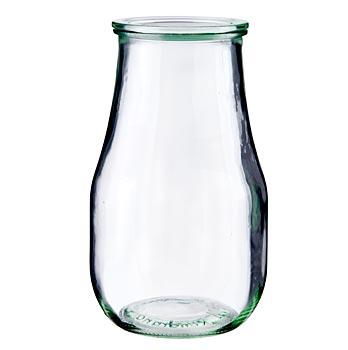 Zavařovací sklenice Weck 2,5 l (bez gumičky a spon) tvar tulipánu, s víčkem, Weck